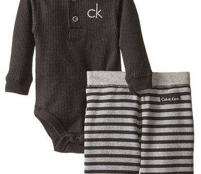 Calvin_Klein_Baby-Boys_Newborn_Black_Bodysuit_with_Stripes