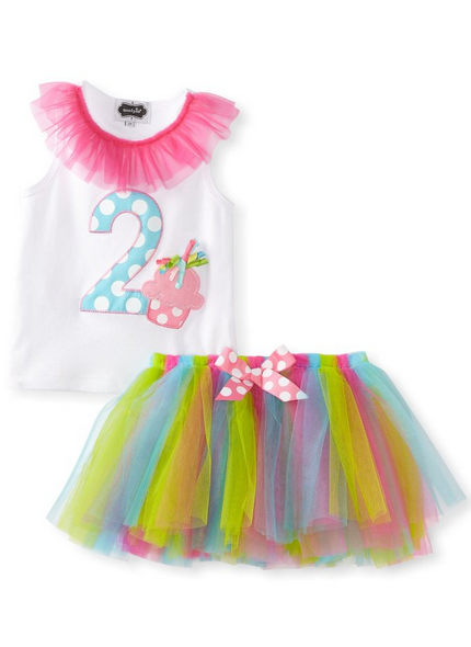 Mud_Pie_Little_Girls'_I'm_2_Tutu_Set