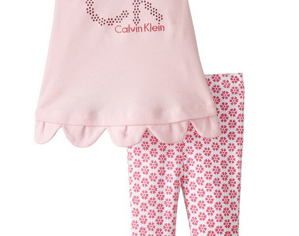 Calvin_Klein_Baby_Girls'_Pink_Tunic_Big_Logo_with_Printed