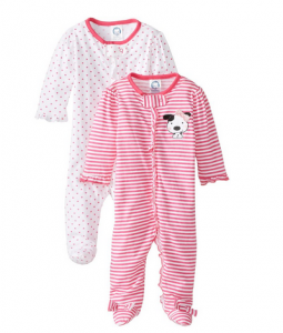 Gerber_Baby-Girls'_Newborn_Two_Pack_Sleep_N_Play_Zip-Front_Sleeper