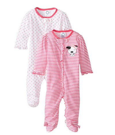 Gerber_Baby-Girls'_Newborn_Two_Pack_Sleep_N_Play_Zip-Front_Sleeper