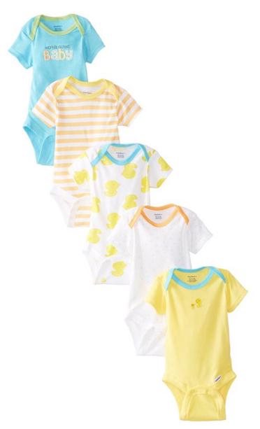 Gerber_Unisex-Baby_Newborn_Five-Pack_Variety_Onesie_Brand